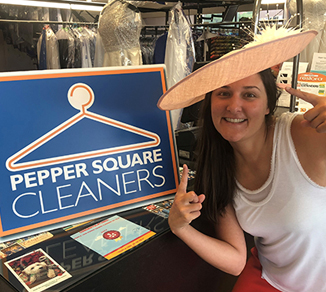 Margana Wood, Miss Texas, Pepper Square Cleaners
